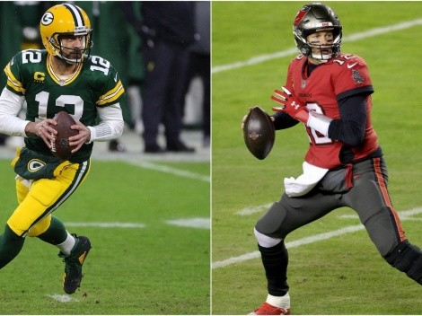 Aaron Rodgers brutally honest on facing Tom Brady for a shot at the Super Bowl