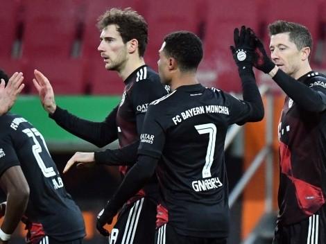 Bundesliga 2020/21 standings after matchday 17
