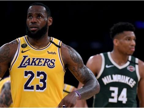 LeBron James roasts Giannis Antetokounmpo, NBA media after beating the Bucks again