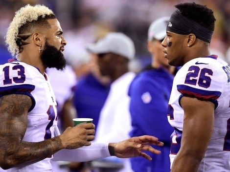 Odell Beckham Jr, Saquon Barkley have big plans together for the NFL offseason