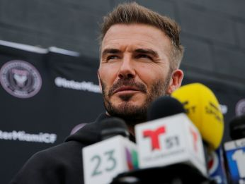 David Beckham, copropietario de Inter Miami