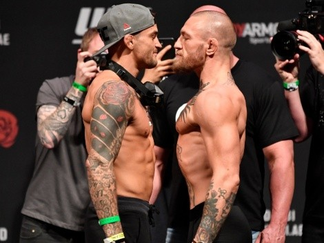 Conor McGregor faces Dustin Poirier at Fight Island