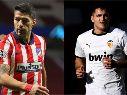 Atlético de Madrid vs. Valencia juegan por la fecha 20 de LaLiga Santander este domingo (Getty Images)