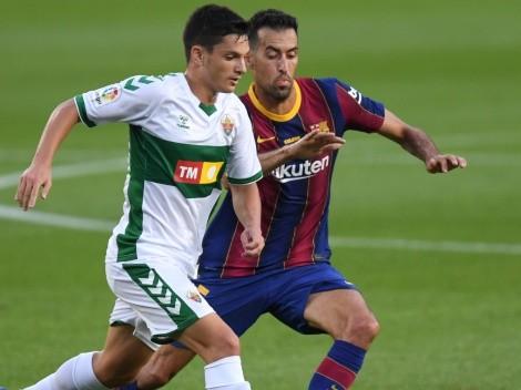Barcelona visit Elche today as La Liga resumes