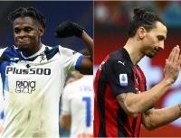 Esto fue lo que se dijeron Duván Zapata y Zlatan Ibrahimovic sobre el final del partido
