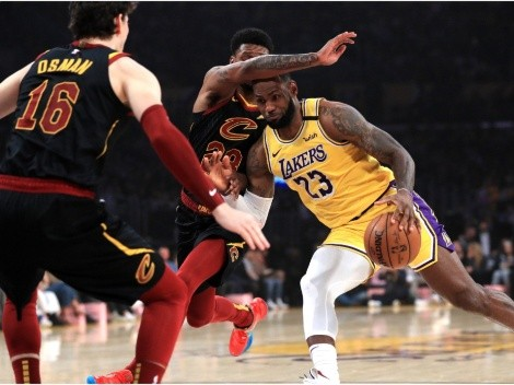 LeBron comes back home as the Lakers face the Cavaliers
