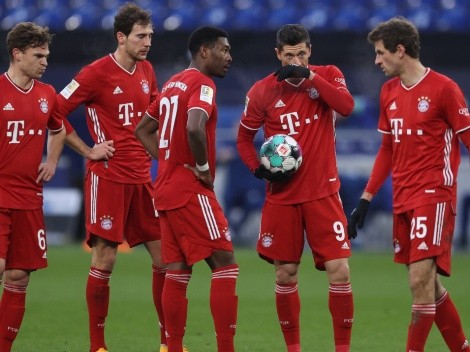 Bundesliga 2020/21 standings after matchday 18