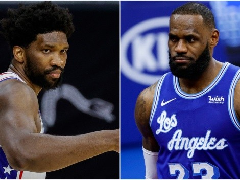 Joel Embiid calls out LeBron James and the referees over dirty foul