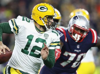 Aaron Rodgers vs. New England Patriots