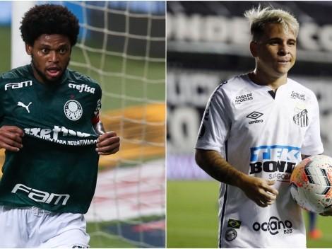 Palmeiras and Santos play at Maracana this afternoon to define the Libertadores winner