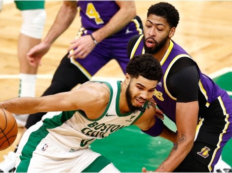 Boston Celtics' broadcast takes a savage shots at the Los Angeles Lakers