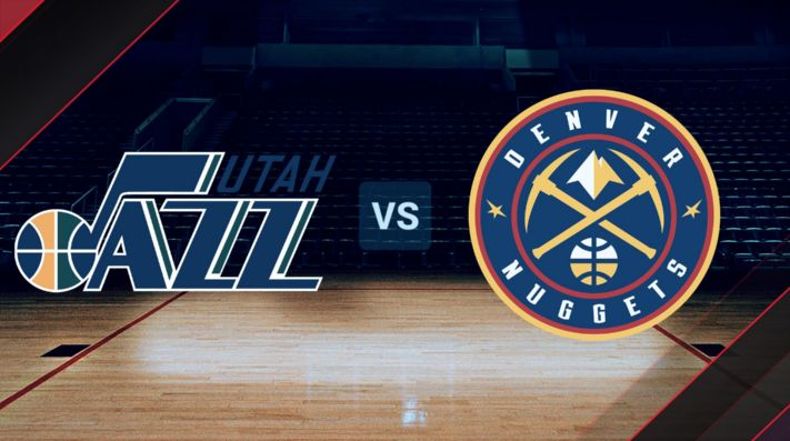 Jazz vs. Nuggets, NBA.
