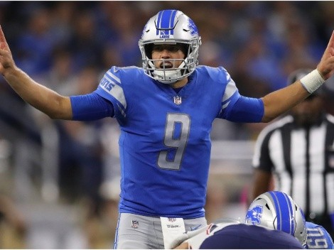 Matthew Stafford chose every single team but the New England Patriots