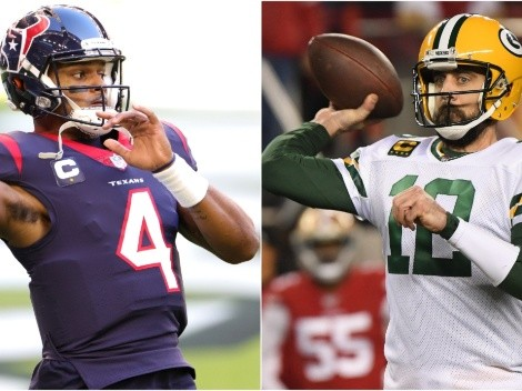 The trade that could send Deshaun Watson to the Packers and Aaron Rodgers to the 49ers