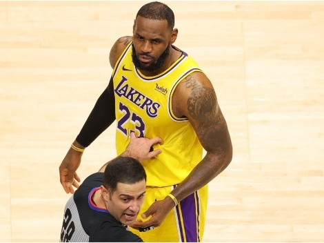 Fan claims LeBron insulted her, threatnes to 'f*ck him up' before being ejected