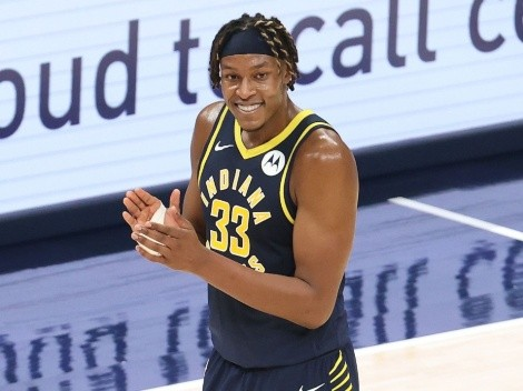 Indiana Pacers Myles Turner is having a Defensive Player of the Year season so far