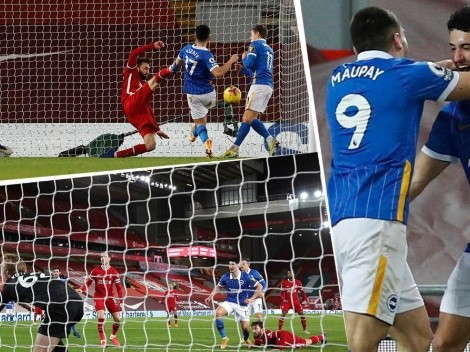 Primer gol de Steven Alzate en la Premier League y fue al Liverpool