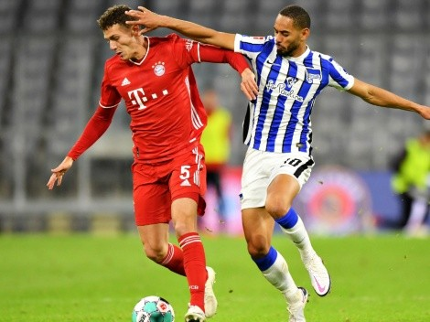 Hertha host Bundesliga leaders Bayern in Round 20 today