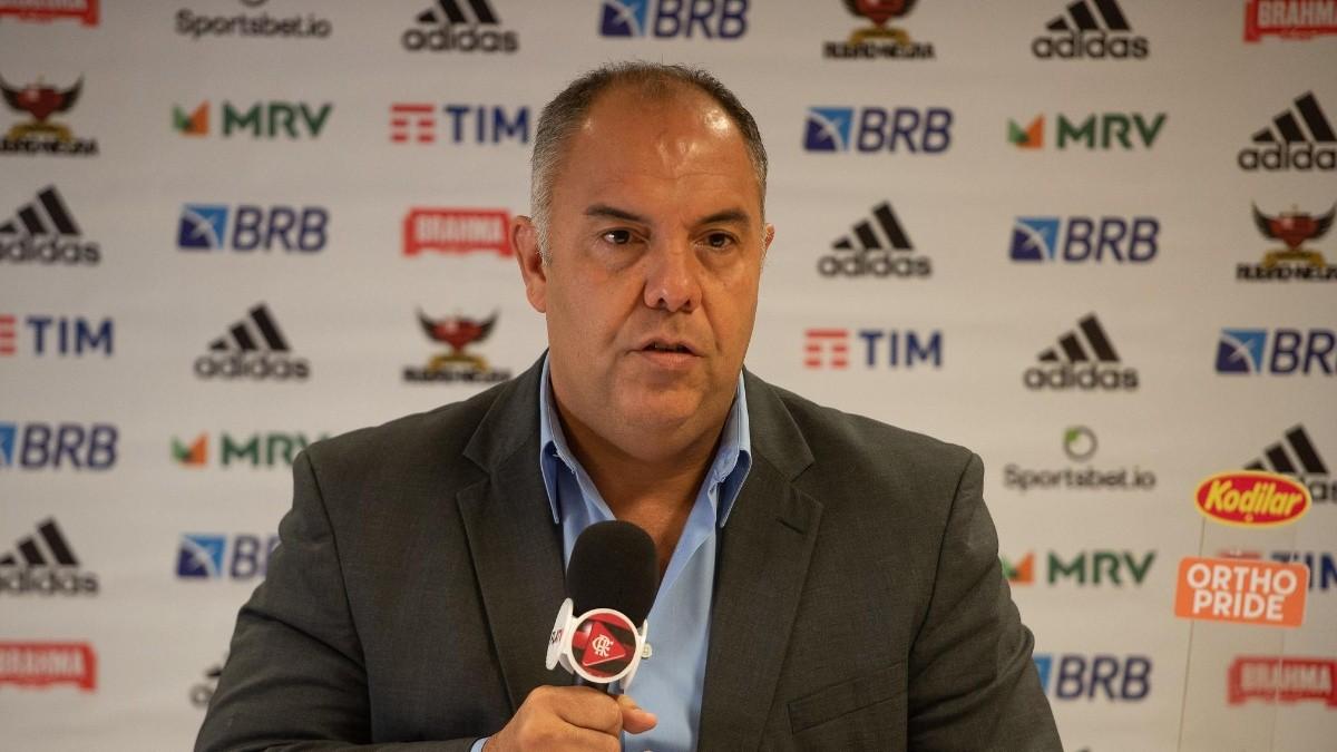 Com certeza o Flamengo não terá grandes perdas de jogadores, diz Marcos Braz
