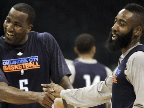 Kendrick Perkins reveals James Harden visited strip clubs during 2012 NBA Finals