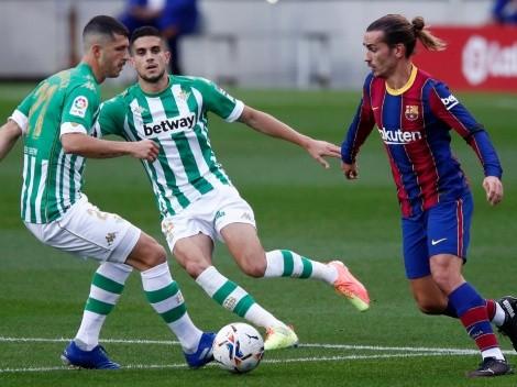 Real Betis welcome Barcelona in Seville in La Liga Round 22