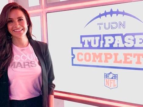 Georgina Holguín confiesa todo lo que tuvo que hacer para estar en el Super Bowl LV con Televisa