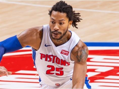 Detroit Pistons y New York Knicks acuerdan cambio por Derrick Rose
