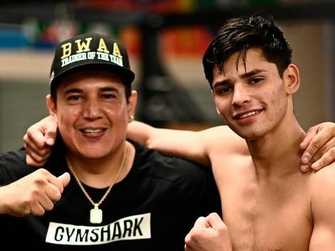 Eddy Reynoso dijo qué pelea quiere para Ryan García y no es ante Pacquiao