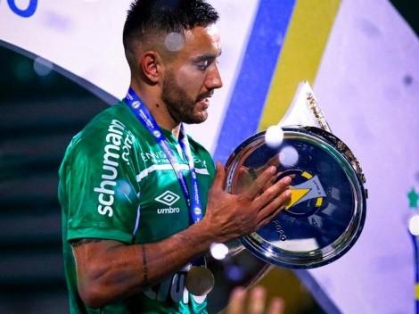 Triste perdida para Chapecoense: Alan Ruschel ahora jugará para Cruzeiro