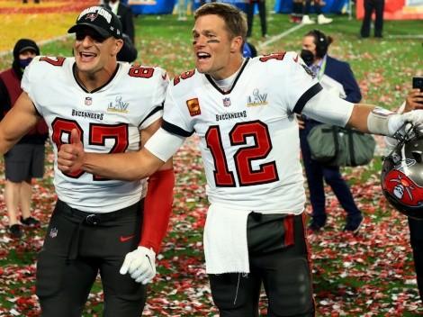 Tom Brady y Rob Gronkowski: la pareja más anotadora en la historia de NFL Playoffs