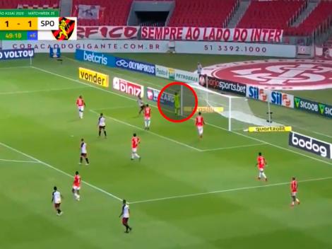 Insólito: el arquero de Inter creyó que se iba y le terminaron metiendo un gol