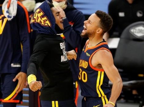 Hasta Juan Toscano lo celebró: el show de Stephen Curry ante Orlando Magic