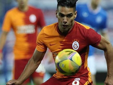 Fecha, hora y TV para el posible regreso de Falcao con Galatasaray