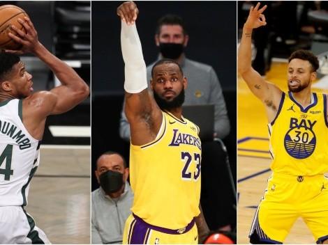 Los récords históricos de la NBA que se pueden romper en 2021