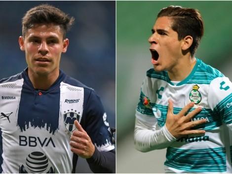 Santos Laguna take on Monterrey in Round 6 at the Estadio Corona
