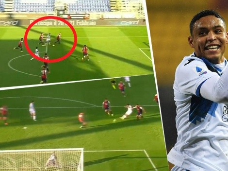 Muriel le pintó la cara a toda la defensa del Cagliari y anotó un golazo
