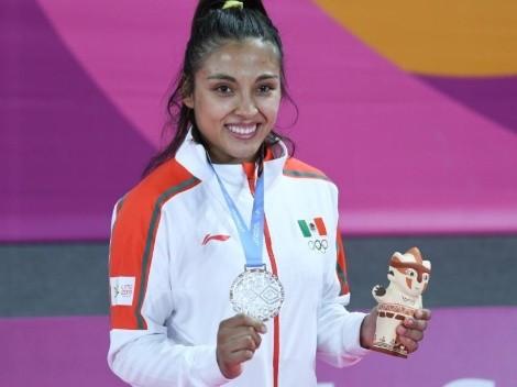 """""""Estar lejos de mi hijo es algo que me ha dolido"""": Luz Olvera, judoca mexicana"""