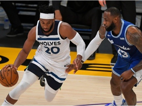 LeBron and the Lakers take on the Timberwolves without Anthony Davis