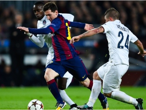 Messi and Barcelona host PSG today at Camp Nou