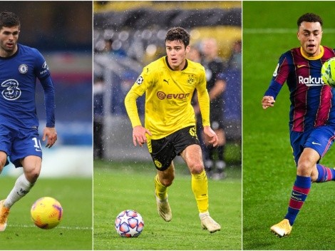 Should USMNT fans be worried about Christian Pulisic, Giovanni Reyna, and Sergiño Dest?