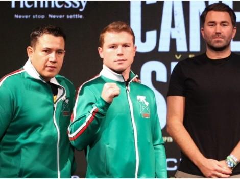 Who is Canelo Alvarez promoter?