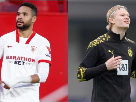 Sevilla face Borussia Dortmund in Champions League last-16 round