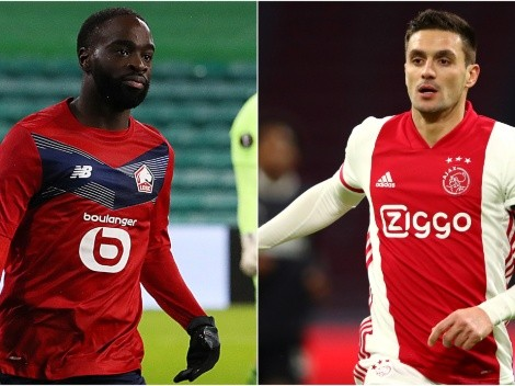 Timothy Weah's Lille face Ajax in the first leg of UEL Round of 32