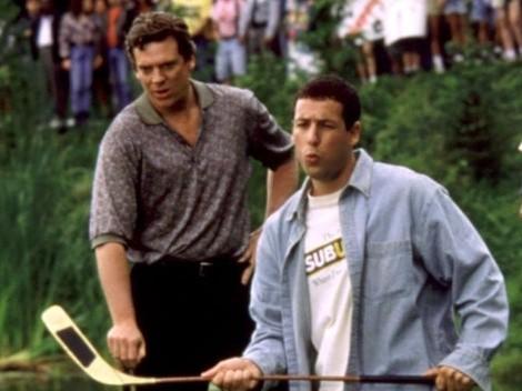 Adam Sandler y Christopher McDonald recrean Happy Gilmore a 25 años de su estreno