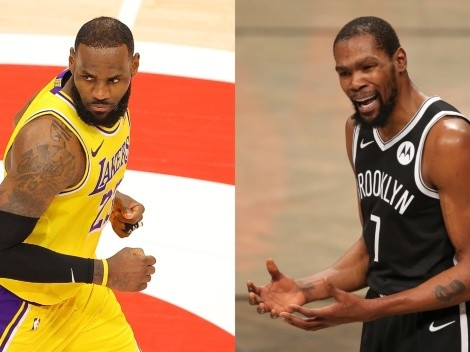 LeBron and the Lakers take on the overpowered Nets