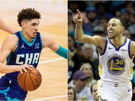 Stephen Curry and LaMelo Ball face off as the Warriors visit the Hornets