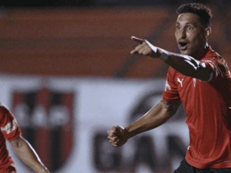 Falcioni puso a Insaurralde de titular y éste respondió: golazo y victoria de Independiente