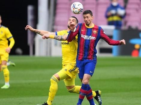 Desgarrador: Lenglet se fue llorando del Camp Nou tras cometer el penal del empate