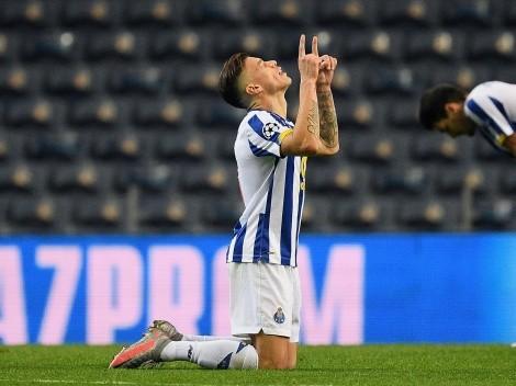 Mateus Uribe cumplió con gol en la victoria de Porto