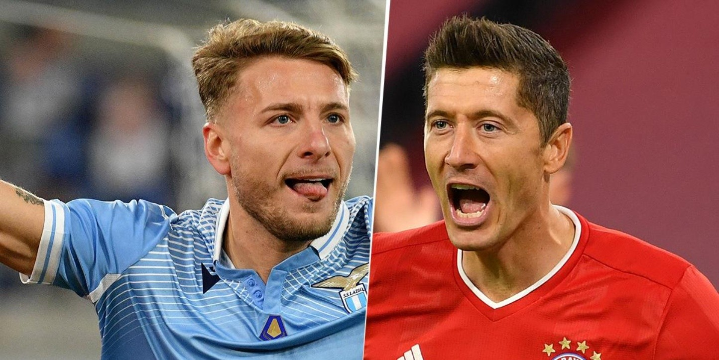 Ciro Immobile y Robert Lewandowski, Champions League (Imagen: Getty)